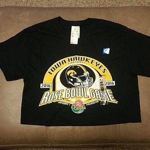Iowa 2016 Rose Bowl tshirt